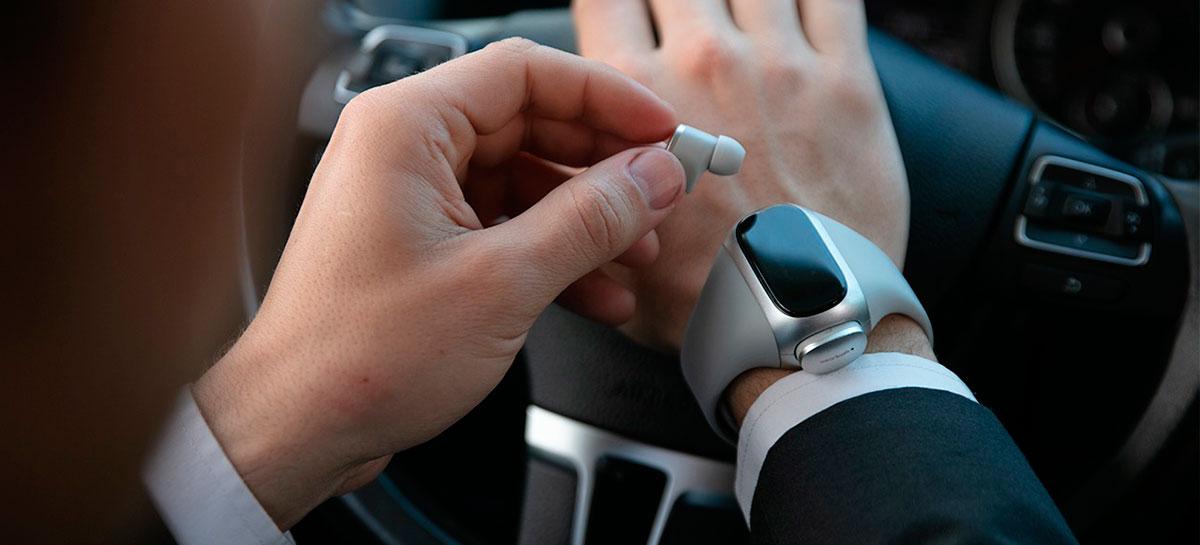 Wearbuds Pro: fones que carregam no seu relógio