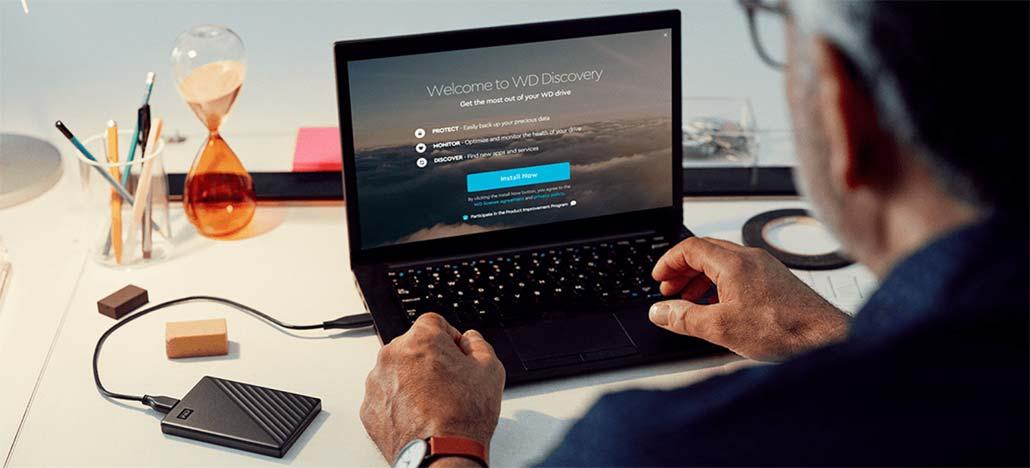Novo HD portátil da Western Digital tem espessura mínima e 5TB de espaço