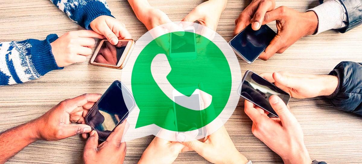 Empresa afirma que uso do WhatsApp saltou em 97% durante a pandemia no Brasil
