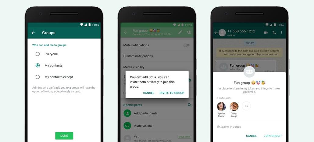 Atualização do WhatsApp introduz novos controles de privacidade para grupos