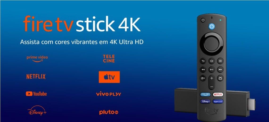 Amazon anuncia pré-venda de Fire TV Stick 4K, Fire TV Stick e novo controle remoto por voz com Alexa