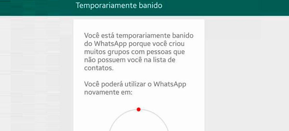 WhatsApp testa recurso para contestar banição do app