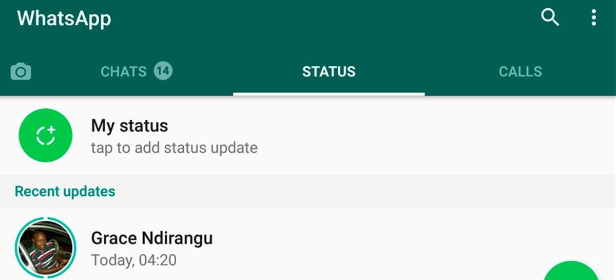 WhatsApp reduz duração de vídeos publicados na aba Status durante a quarentena
