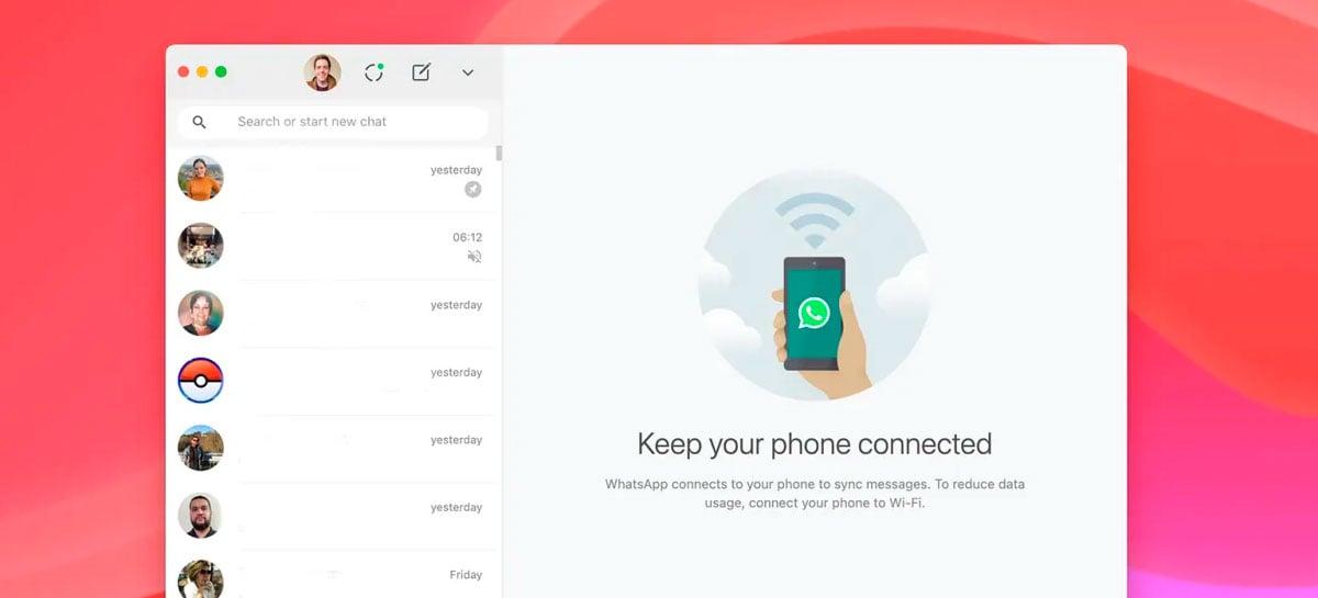 WhatsApp Beta para PC já está disponível com atualização no áudio