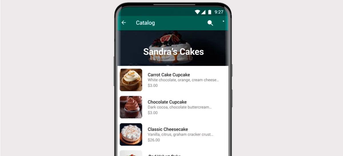 WhatsApp adiciona novo botão de compras com catálogo
