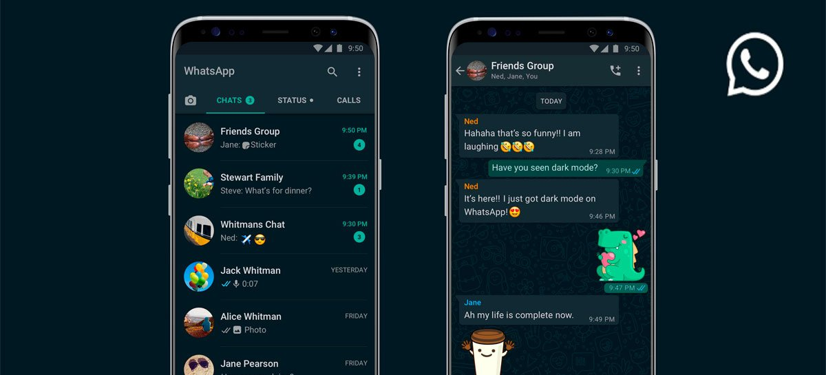 Veja como deixar o WhatsApp no Modo Escuro para Android e iOS