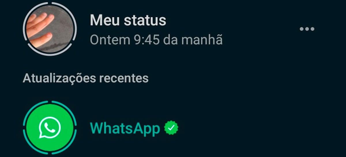 """WhatsApp usa seus """"stories"""" para convencer usuários que a plataforma é segura"""