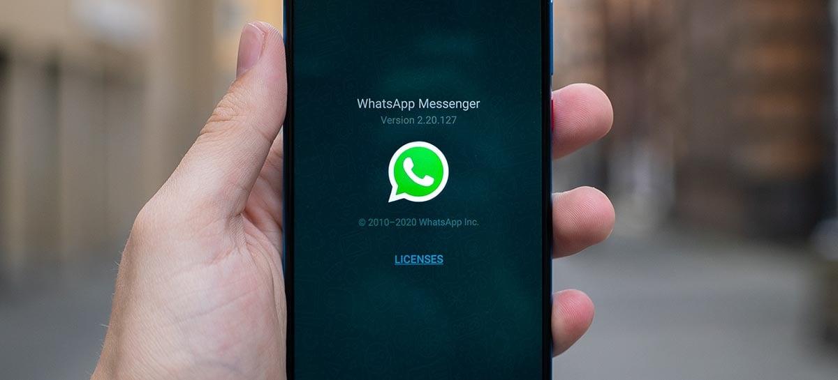 Você poderá ouvir áudios no WhatsApp mesmo depois de fechar uma conversa