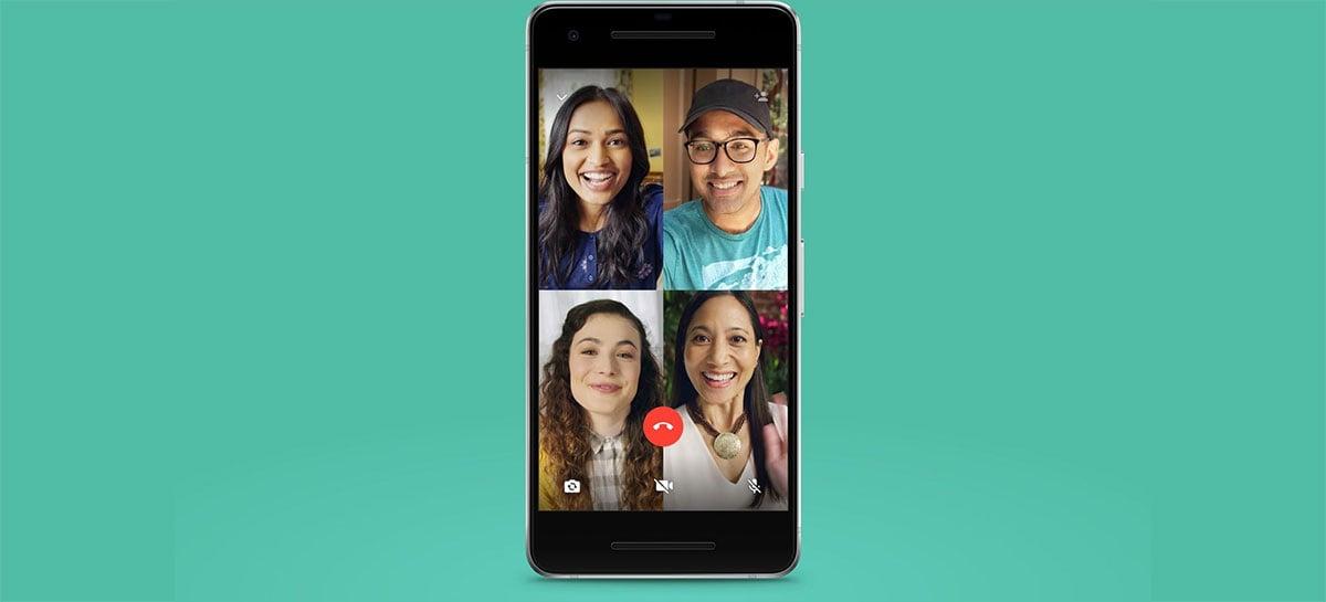 WhatsApp vai aumentar número de participantes em ligações de áudio e vídeo