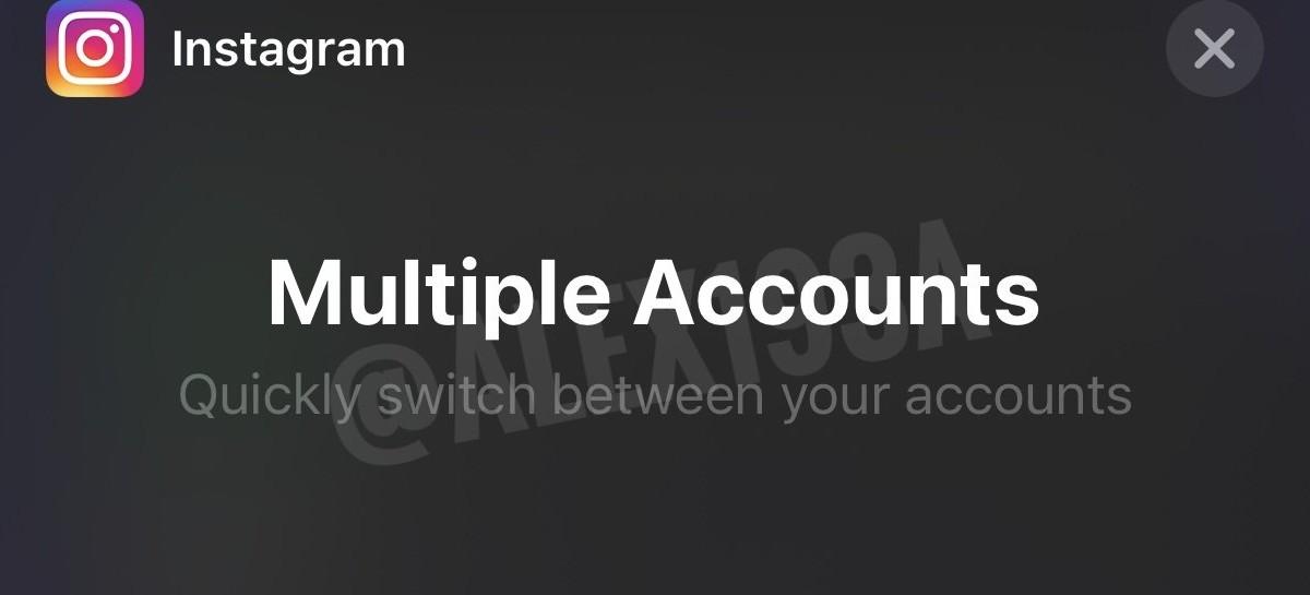 Instagram está desenvolvendo widget para troca de contas no iOS