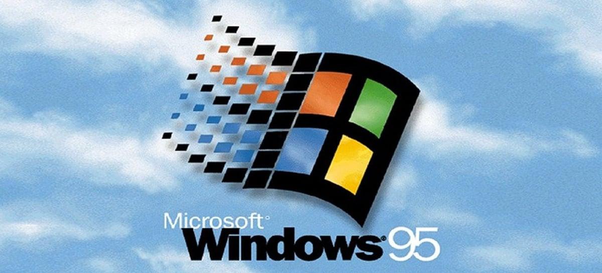 Windows 95, primeiro a vir com o Menu Iniciar, completa 25 anos