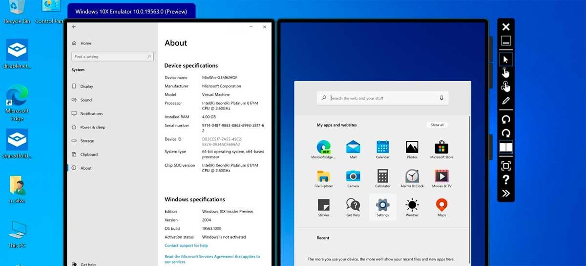 Windows 10X Emulator já está disponível para download