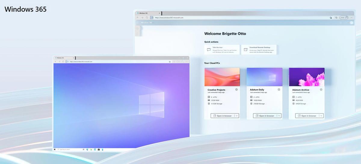 Microsoft anuncia o Windows 365, que oferece uma experiência de PC na nuvem