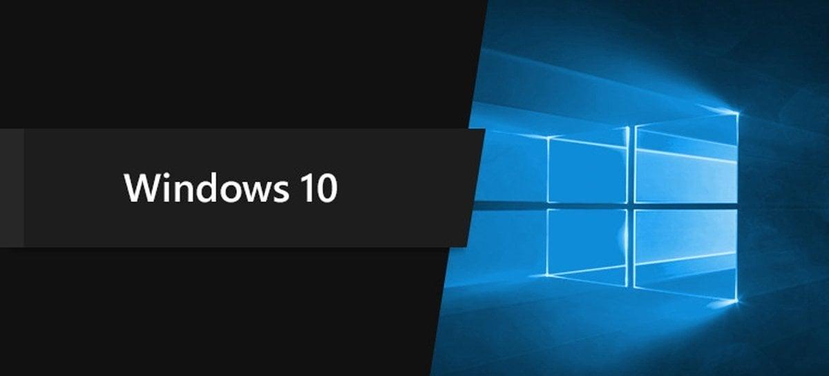 Microsoft diz que Windows 10 está presente em 1,3 bilhão de dispositivos ativos