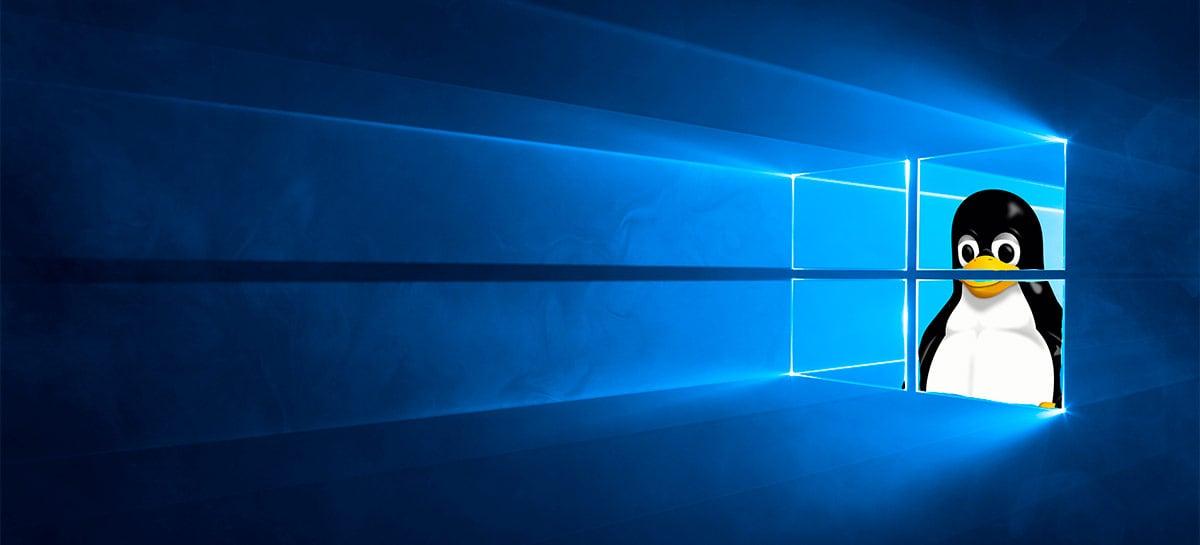 Update do WSL 2 no Windows 10 permite acessar arquivos do Linux em drives diferentes