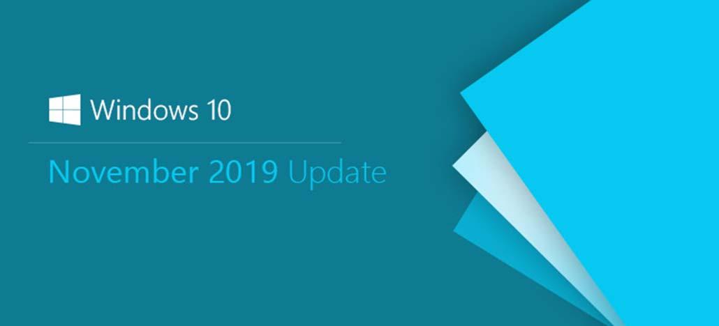 Microsoft lançará Update de Novembro de 2019 para Windows 10 ainda em outubro
