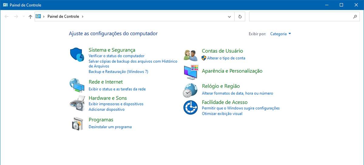 Microsoft está se preparando para remover o Painel de Controle clássico do Windows 10