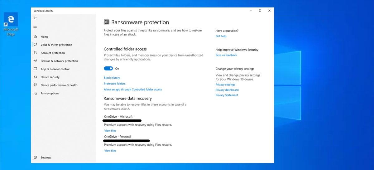 Windows 10 já vem com uma proteção contra ransomware - veja como ativar!