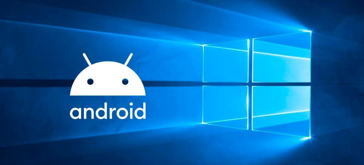 Windows 10 deverá ganhar suporte nativo a aplicativos Android até o final de 2021