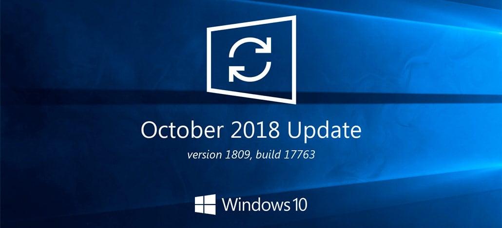Windows 10 começa a receber seu update de outubro de 2018