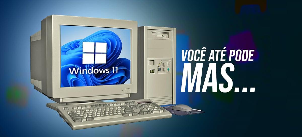 Windows 11 vai rodar em PCs antigos! Porém...