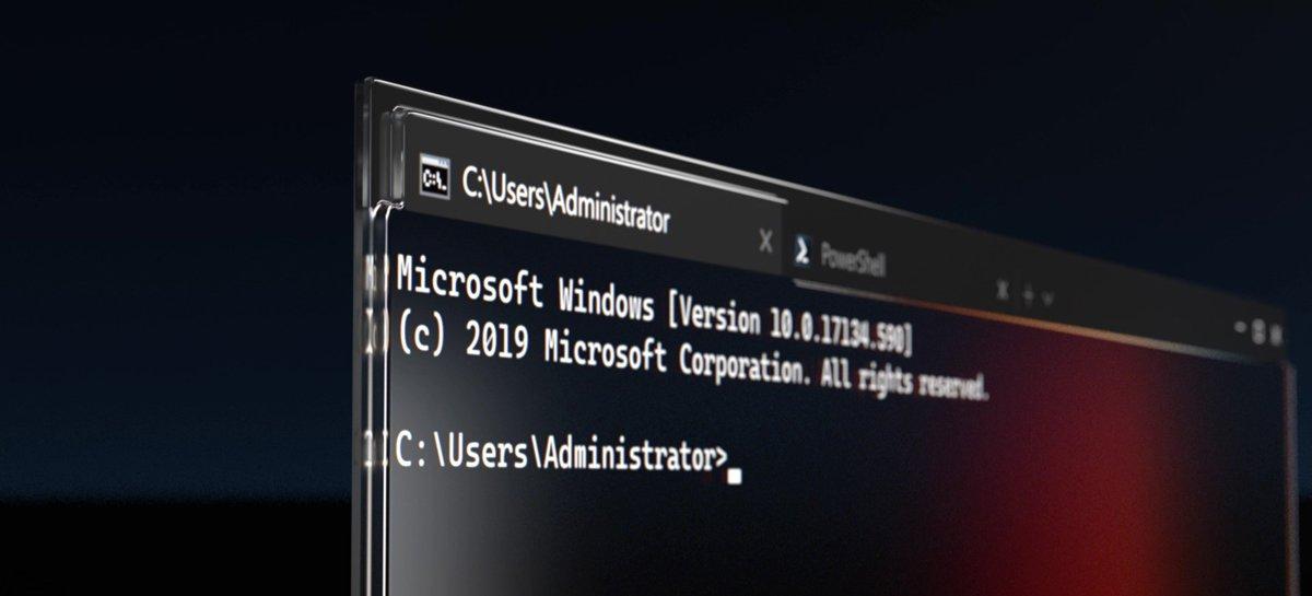 Windows Terminal Preview v1.6 traz nova tela de configurações