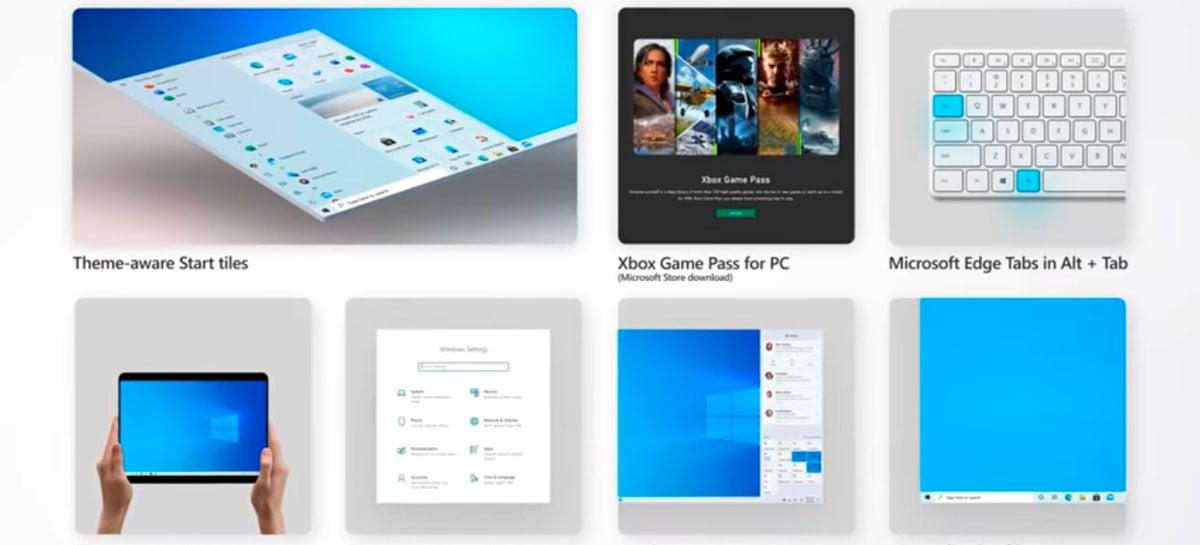 Windows 10 está recebendo atualização de outubro com novo menu iniciar e mais