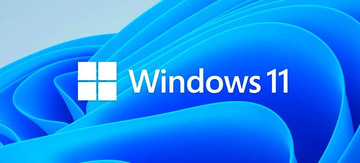Microsoft sugere lançamento do Windows 11 para outubro