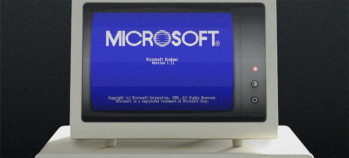 Volte no tempo com o emulador do Windows 1.0, sistema que já existe há 35 anos