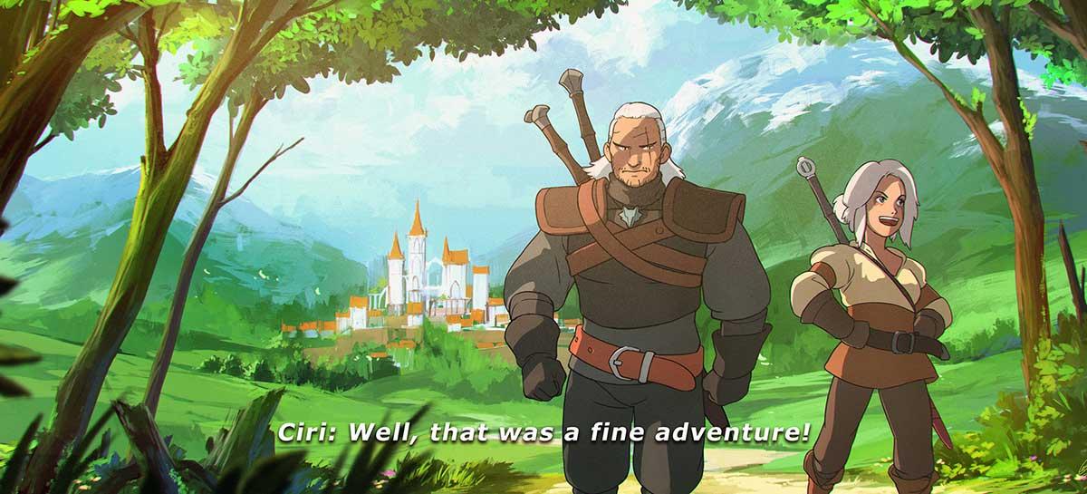 Netflix confirma que está produzindo série animada de The Witcher