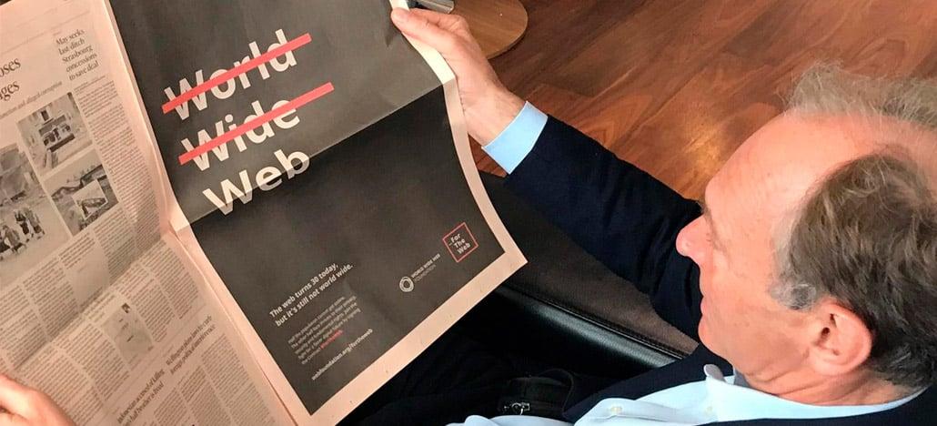 Tim Berners-Lee, criador do www, faz reflexão no aniversário de 30 anos de criação da web