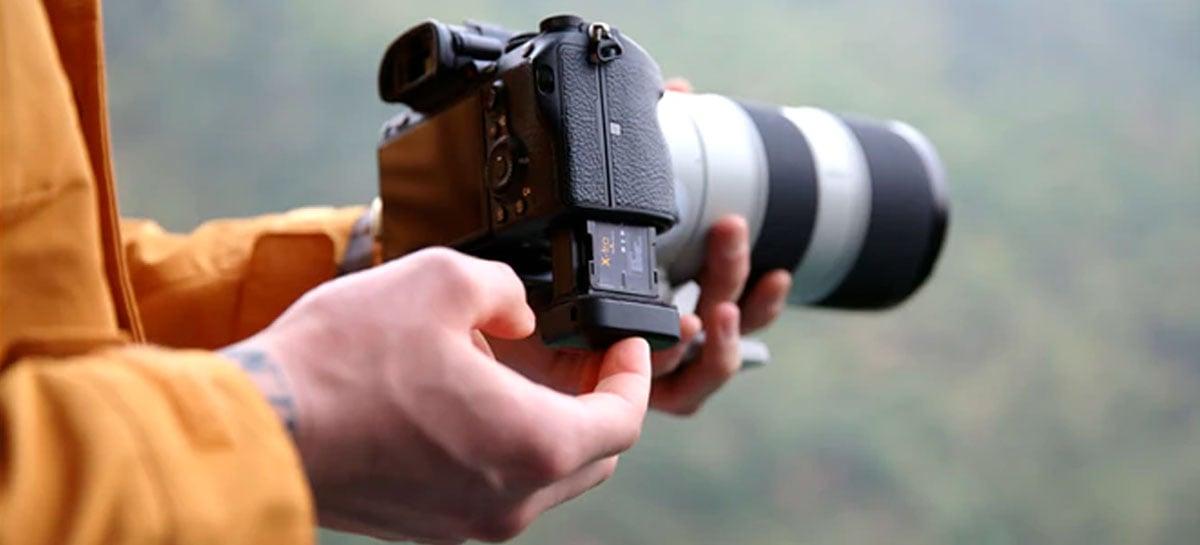 Bateria X-tra para câmeras DLSR e mirrorless promete até o dobro de capacidade