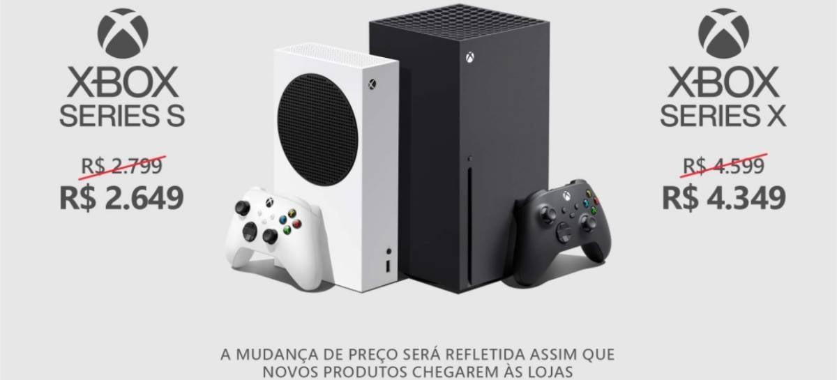 Microsoft anuncia redução no preço do Xbox Series S   X no Brasil