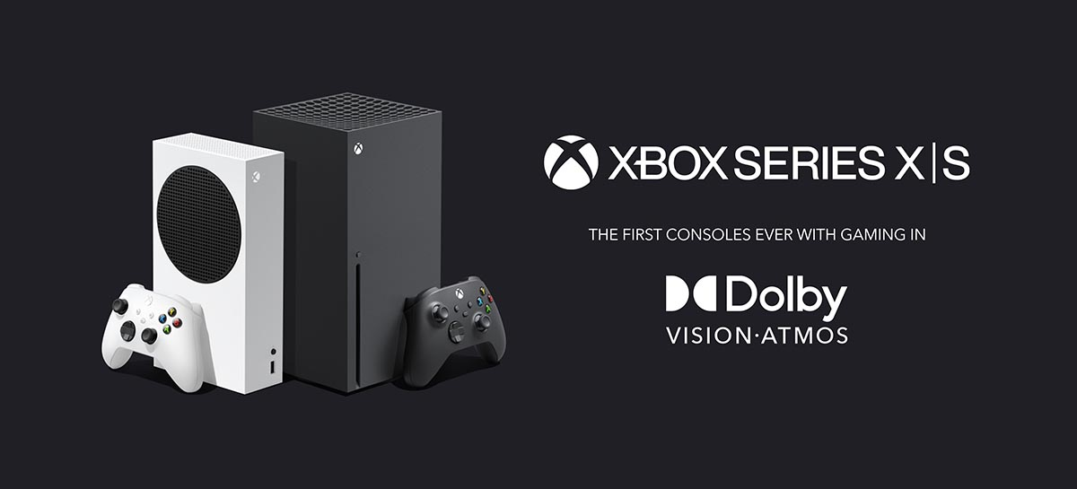 Xbox Series S e X estão recebendo suporte a tecnologia Dolby Vision