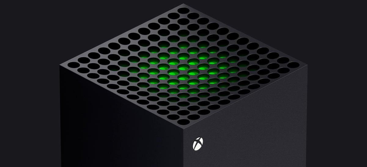 Xbox Series X, console de nova geração da Microsoft, será lançado em novembro