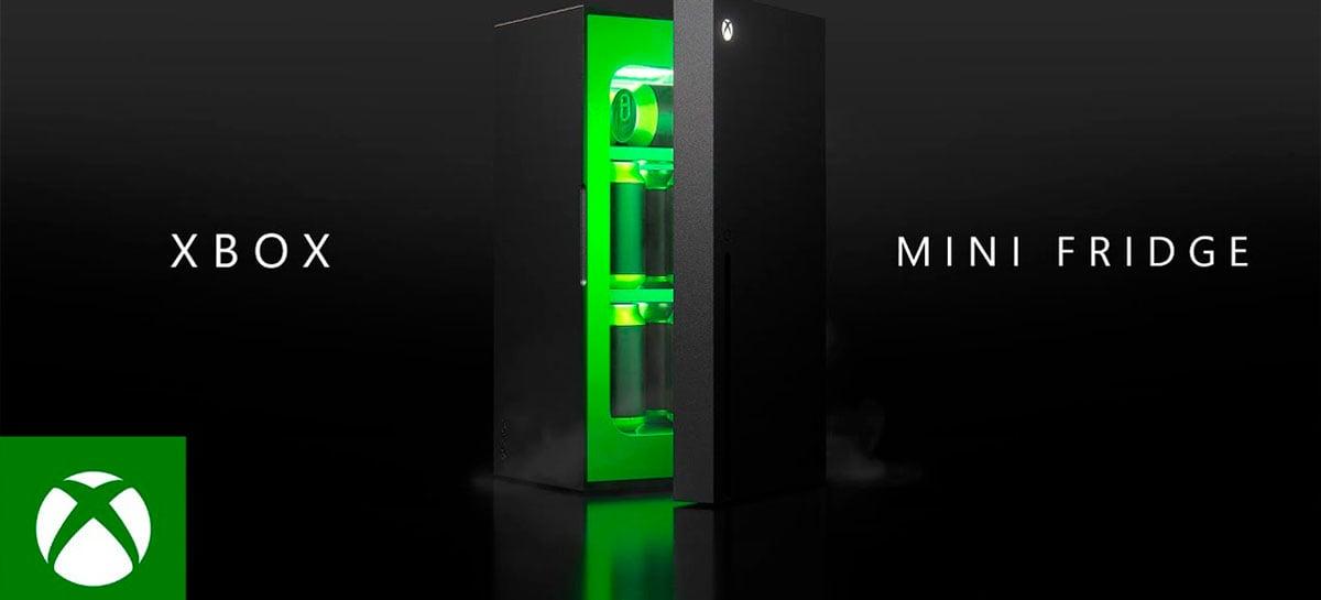 O frigobar inspirado no Xbox Series X é real e será lançado em 2021