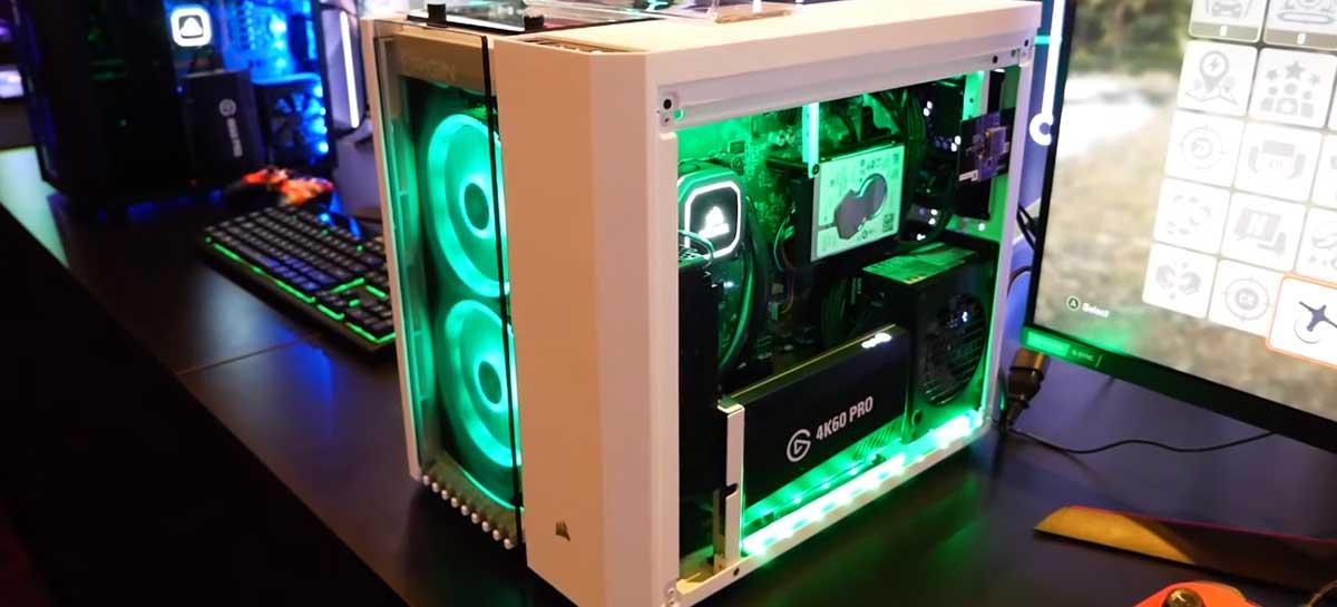 Big O é o PC gamer de alto desempenho com Xbox ou Playstation dentro