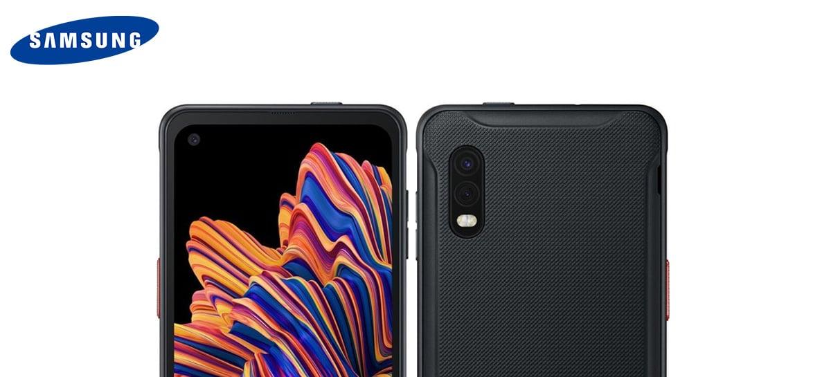 Galaxy XCover Pro é o novo celular com bateria removível  da Samsung