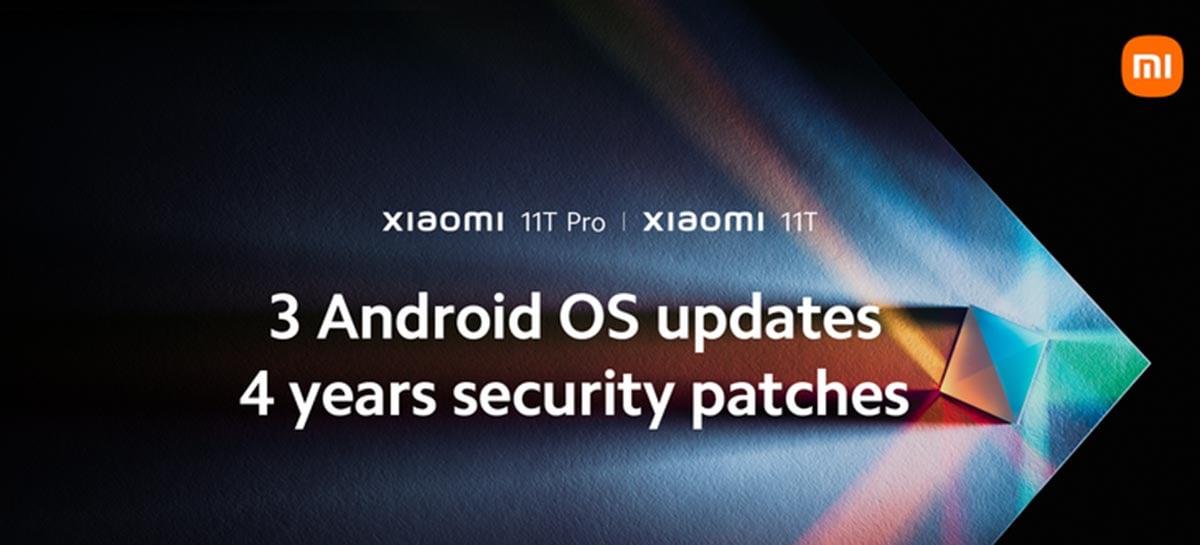 Xiaomi 11T vai receber três grandes atualizações do Android