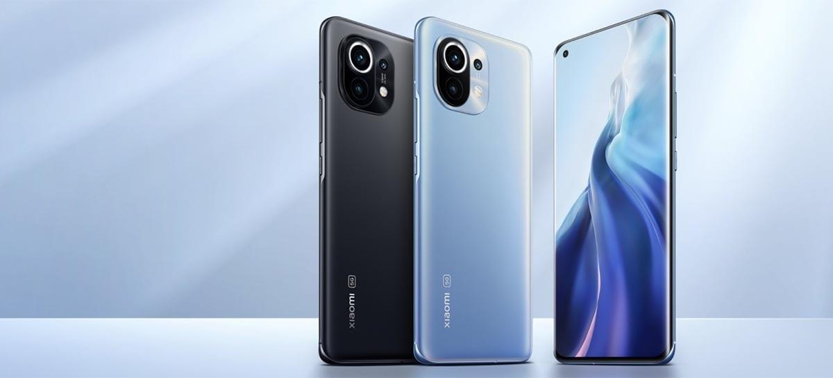 Xiaomi anuncia que série Mi 11 já vendeu 3 milhões de smartphones