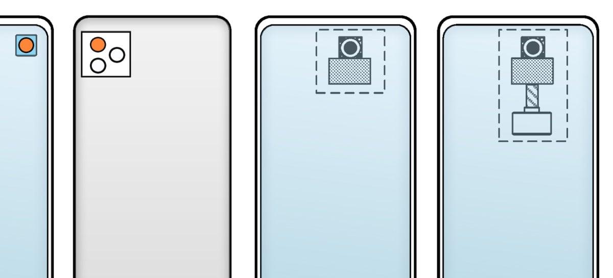 Nova patente da Xiaomi mostra câmera embaixo da tela capaz até de rodar
