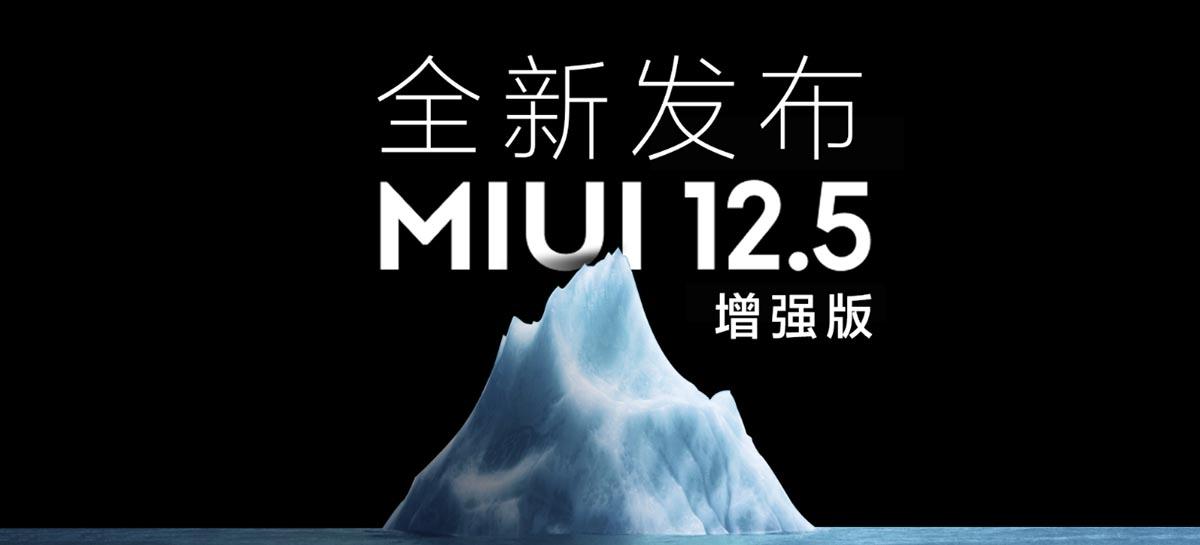 Xiaomi está lançando uma versão aprimorada da MIUI 12.5 na China