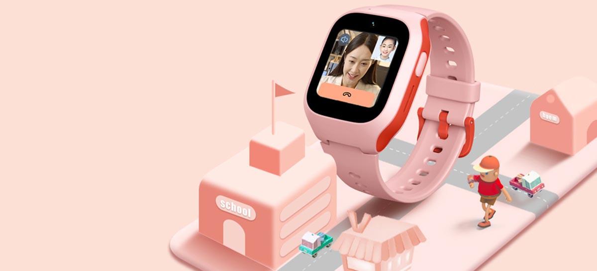 Xiaomi lança smartwatch para crianças com recurso de videochamada
