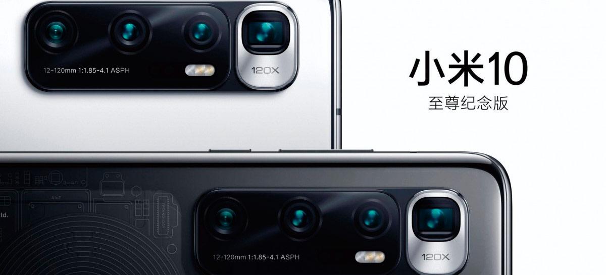 Câmera com zoom de 120x do Xiaomi Mi 10 Ultra aparece em destaque em novo vazamento