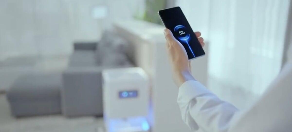 Xiaomi Mi Air Charge pode carregar dispositivos à distância e sem fios