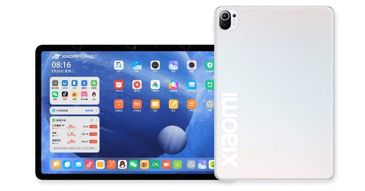 Xiaomi Mi Pad 5 certificado com bateria de 8.520 mAh e câmeras do Mi 11 [Rumor]