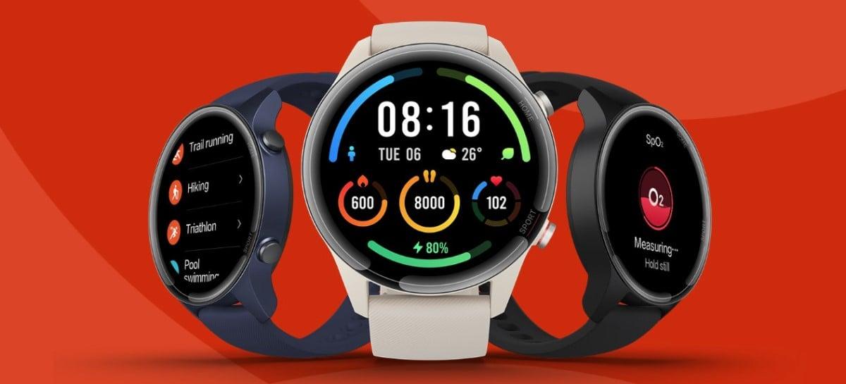 Xiaomi lança o Mi Watch no Brasil com preço sugerido de R$ 2 mil