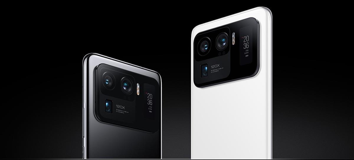 Xiaomi pode lançar aparelho superior ao Mi 11 Ultra com câmera embaixo da tela