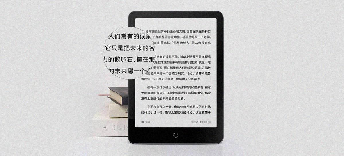 Xiaomi lança novo Mi Reader Pro, seu Kindle com tons customizáveis e controle por voz