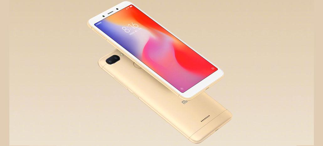 Xiaomi Redmi 6 começa a ser vendido hoje na China